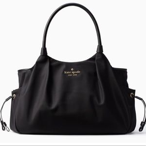 Kate Spade | Black Stevie Diaper Bag